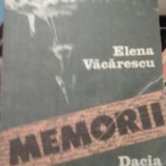 Elena Vacarescu - Memorii - Roman, Anul publicarii: 1989