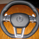 Volan AMG pt Mercedes inclusiv airbag w204, cls, slk, w212 - Airbag auto