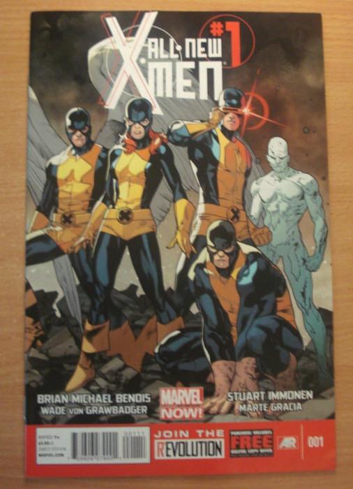 X-Men All New #1 . Marvel Comics foto mare