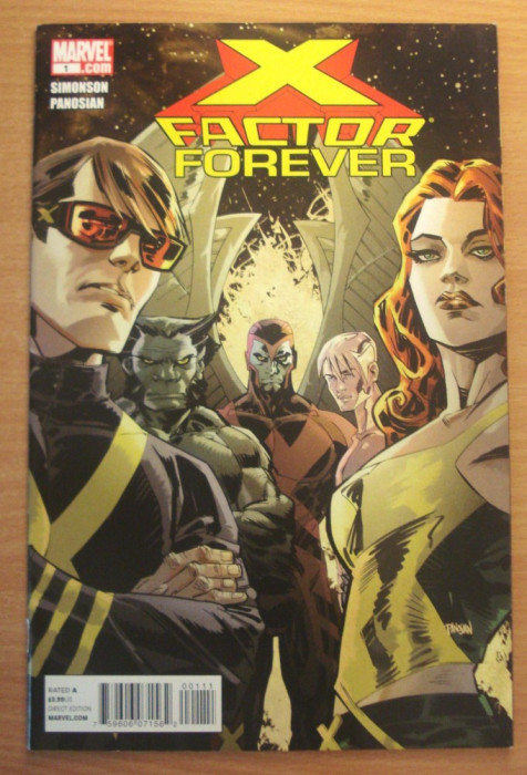 X-Factor Forever #1 . Marvel Comics foto mare