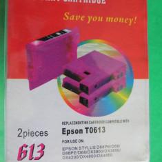 CS572 Cartus imprimanta Epson T0613 magenta 613 rosu set 2 buc