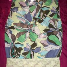 Bluza Only; marime 36: 45 cm bust, 54 cm lungime; impecabila, ca noua - Bluza dama Only, Culoare: Din imagine, Fara maneca, Poliester