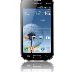 Vand Samsung Galaxy S Duos, dual sim, aproape nou, cu garantie valabila 19 luni, telefonul arata foarte bine - Telefon mobil Samsung Galaxy S Duos, Negru, Neblocat