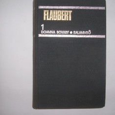 Gustave Flaubert - Doamna Bovary & Salammbo (Opere, vol 1), rf - Roman, Anul publicarii: 1979
