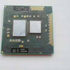 Procesor laptop Intel Core I5-430M, 2000-2500 Mhz