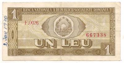 bacnota-1 leu 1966 foto