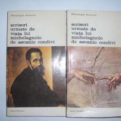 Michelangelo Buonarroti - Scrisori urmate de viata lui Michelagnolo de Ascanio