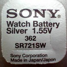 Baterie ceas Sony, cu argint-AG11-LR721-362-SR721SW.