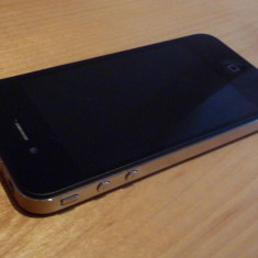 iPhone 4 Apple codat, Negru, 16GB