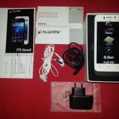 ALLVIEW P5 QUAD CORE - Telefon Allview, Negru, Neblocat