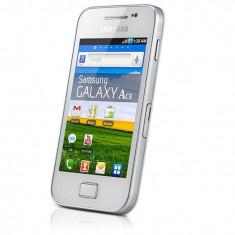 Vand Samsung Galaxy Ace GT -S5830 ecran spart - Telefon mobil Samsung Galaxy Ace, Negru, Neblocat