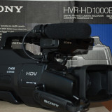 Vand SONY HVR-HD1000E - Camera Video Sony, Intre 3 si 4 inch, CMOS