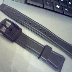 Curea ceas Casio din plastic, de 12mm, 18 mm, 20mm si 22mm, latime.