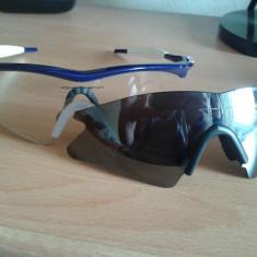 Ochelari Oakley M Frame, 2 perechi de lentile (transparenta si neagra) - Ochelari de soare Oakley, Barbati, Negru, Curbati