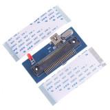 "Adaptor Micro IDE 1.8"", ZIF 50Pin la Mini USB"