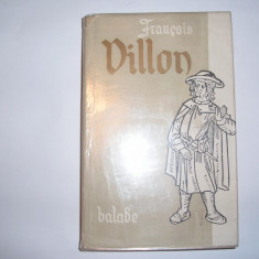 FRANCOIS VILLON - BALADE SI ALTE POEME 1956, rf1/3 - Carte poezie