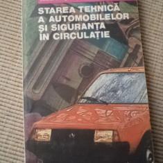 Starea tehnica a automobilelor si siguranta in circulatie colonel mihai stratulat carte auto - Carti auto