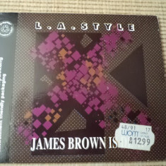 LA Style James Brown Is Dead cd maxi single techno hardcore electronic - Muzica Drum and Bass