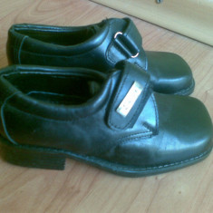Pantofi din piele firma Timberland marimea 26, sunt noi! - Pantofi copii Timberland, Culoare: Negru, Baieti, Negru
