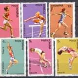 CM atletism Tokio, 1991 - Timbre Romania