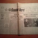 Ziarul romania libera 8 iunie 1964-mesajul lui ceausescu pt organele de militie