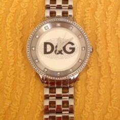 Ceas D&G - Ceas dama Dolce & Gabbana, Elegant, Mecanic-Automatic, Placat cu aur, Metal necunoscut, Analog