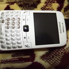 Telefon Samsung 3750 CHAT,, Alb, Neblocat, Fara procesor, 2.3'', Clasic