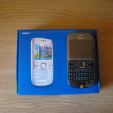 Vand Nokia C3-00 - Telefon mobil Nokia C3, Negru, Neblocat