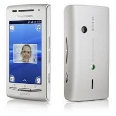 Sony ericsson ixperia - Telefon mobil Sony Ericsson, Alb, 2GB, Neblocat, 3'', Smartphone