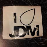 Sticker I love jdm