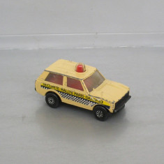 Police Patrol Rallye Paris-Dakar, Matchbox Rolamatics - Macheta auto