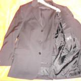 Costum elegant barbati - Costum barbati, 3 nasturi, Negru
