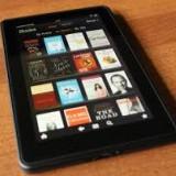 Kindle Fire 7 8GB Wi-Fi Tablet si husa piele pentru Kindle Fire