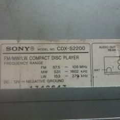 Casetofon cu sina si fara fata cdx s2200 - Pachete car audio auto