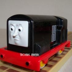 My First Thomas by Golden Bear Trenulet Thomas and Friends - Diesel locomotiva neagra din Sodor ( transport 2.6 RON la plata in avans ), Plastic, Unisex