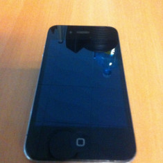 iPhone 4 Apple 8GB Black + Husa, Negru, Orange