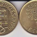 PORTUGALIA 5 ESCUDOS 1990 KM# 632, Europa