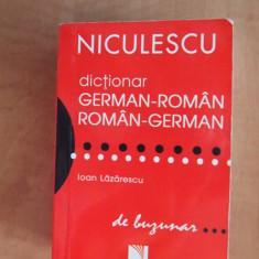 Dictionar german roman / roman german de buzunar - Editura Niculescu