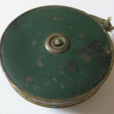 RARITATE! RULETA MILITARA DE PANZA DIN 1897 CU LUNGIMEA DE 50 FEET(PICIOARE)=15, 24 M