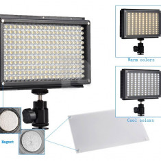 Lampa LED-209AS Bi-Color Video-DSLR KIT - Lumini Studio foto Alta