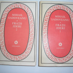 Fratii Jderi - Mihail Sadoveanu (2 volume) Colectia Patrimoniu, R2 - Roman istoric