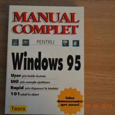Manual complet pentru Windows 95 - Carte sisteme operare, Teora
