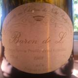 Vin de colectie Baron de L 1988 Ladoucette chateau Nozet Pouilly Fumé