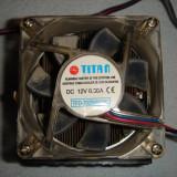 Vand Cooler TITAN TFD-7025HH12C + Fan Controller (Potentiometru bracket), Pentru procesoare