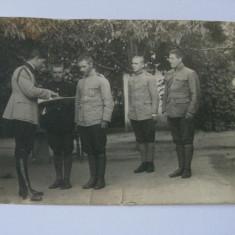 FOTOGRAFIE ELEVI LA SCOALA MILITARA DIN ANII 1910 - Fotografie veche