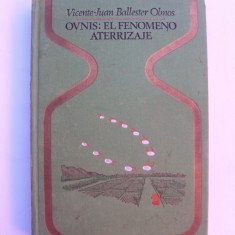Ovnis : El fenomeno aterrizaje - Carte in spaniola