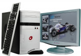Computere Sistem Desktop  Cu Monitor, Intel Celeron, 1 GB, 40-99 GB