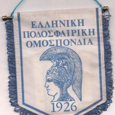 Fanion-GRECIA-FEDERATIA GREACA DE FOTBAL - Fanion fotbal