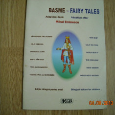 BASME -EDITIE BILINGVA PENTRU COPII