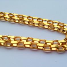 Lant Inox(Otel Inoxidabil) Placat cu Aur LIVRARE GRATUITA - Lantisor placate cu aur